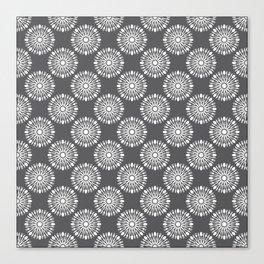 Kitchen cutlery dark circles Canvas Print