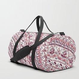 Loose Pink Tribal Pattern Duffle Bag
