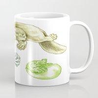 platypus Mugs featuring Platypus by Mayra Boyle