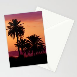 palmtrees Stationery Cards