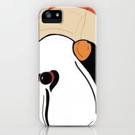 Puffin head iPhone Case