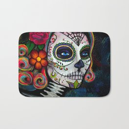 Sugar Skull Candy Bath Mat