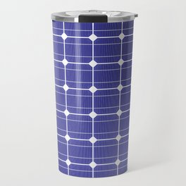 In charge / 3D render of solar panel texture Travel Mug