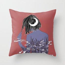 Kemuri  Throw Pillow