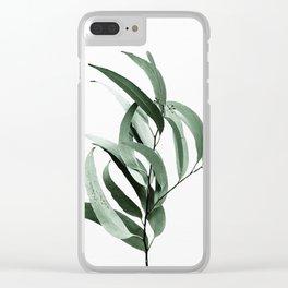Eucalyptus - Australian gum tree Clear iPhone Case