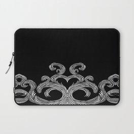 Swirls & Heart Laptop Sleeve