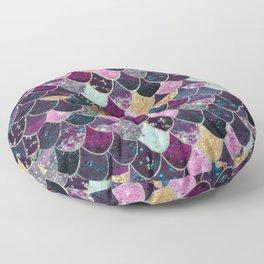 REALLY MERMAID - JEWEL SCALES Floor Pillow