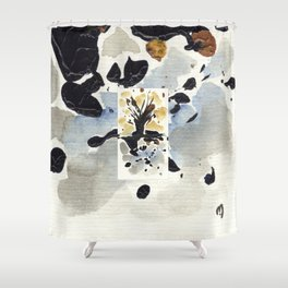 In Limbo - Sepia II Shower Curtain