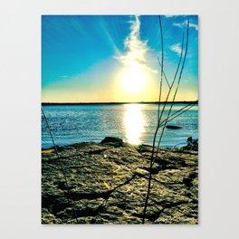 The Smoking Sun  Canvas Print