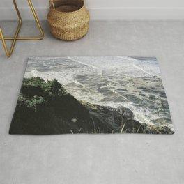 Of sea and foam Rug