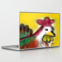 thanksgiving Laptop & iPad Skins featuring Thanksgiving Revenge Turkey by ANoelleJay