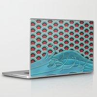koi Laptop & iPad Skins featuring Koi by John Tibbott
