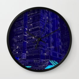 I Love Hong Kong Wall Clock
