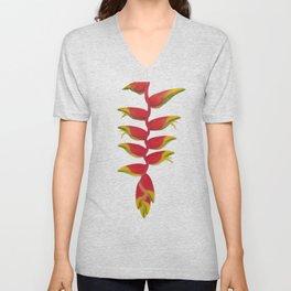 Falling Flower Unisex V-Neck