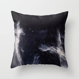 Falling stars II Throw Pillow