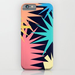 Tropical Geometric iPhone Case
