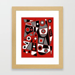 Abstract #968 Framed Art Print