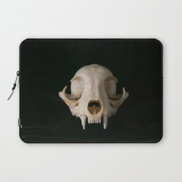 Cat Skull Laptop Sleeve
