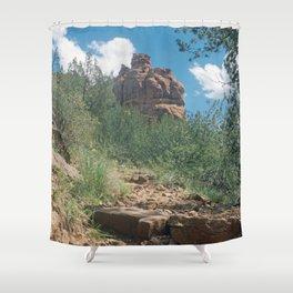 Red Rocks Arizona Shower Curtain