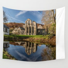 Abbey Reflection Wall Tapestry