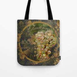 Wines of France Chardonnay Tote Bag