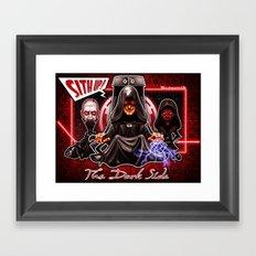 The Dark Side Framed Art Print