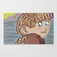 anime Canvas Prints featuring Anime by Peter N Nutley