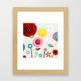 Invent new feelings everyday Framed Art Print