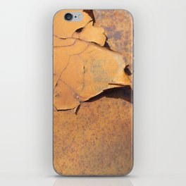 Red Dust iPhone Skin