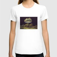 castle in the sky T-shirts featuring Castle by Matthias Leutwyler