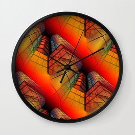 3D - abstraction -63- Wall Clock
