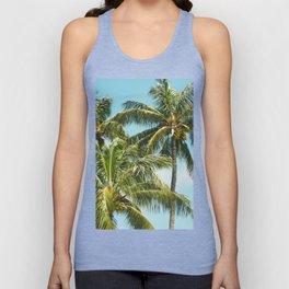 Coconut Palm Trees Sugar Beach Kihei Maui Hawaii Unisex Tank Top