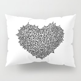 The Heart of Thorns Pillow Sham
