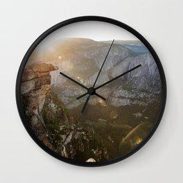 natural flares  Wall Clock
