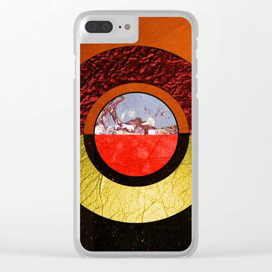 Abstract #121 Clear iPhone Case