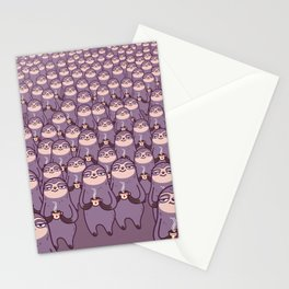 Sloths -tastic! Stationery Cards