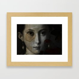 I Don't Know Why Framed Art Print
