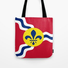 Flag of Saint Louis Tote Bag