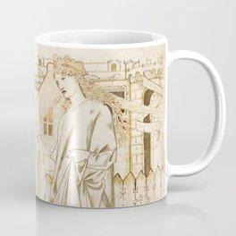 "Edward Burne-Jones ""Chaucer's 'Legend of Good Women' - Amor and Alcestis"" Coffee Mug"