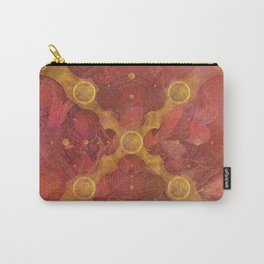 """""""Rose Gold Mandala Deluxe"""" Carry-All Pouch"""