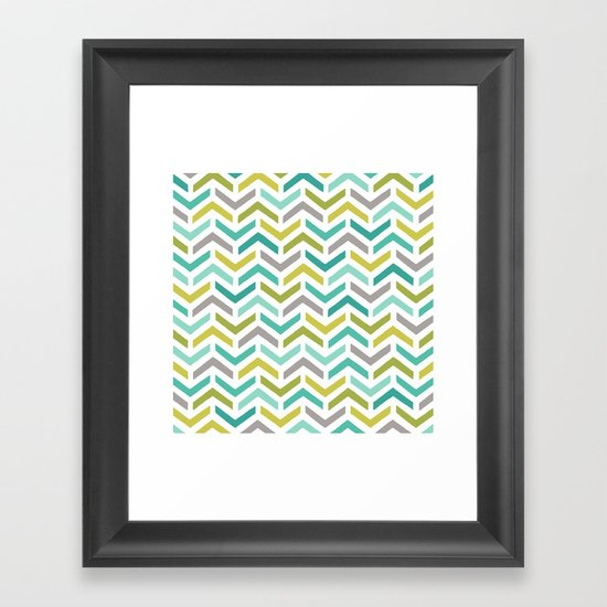Ripples Dusk Framed Art Print