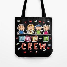 Pre-K Crew - Preschool Teacher Tote Bag