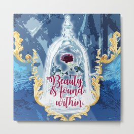 Fairytale - Beauty is found within Metal Print