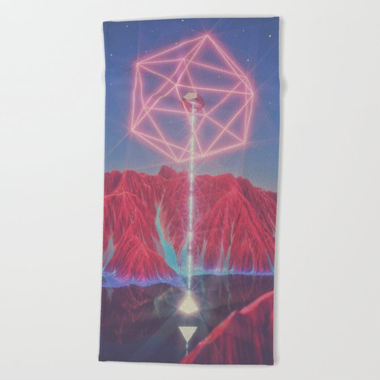 Teleportation Beach Towel