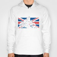 cafe racer Hoodies featuring NORTON TT RACER | DARK by Ernie Young