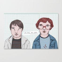 Erlend Oye & Eirik Boe Canvas Print