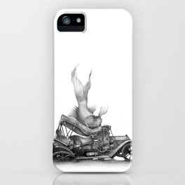 In which a goldfish spoils an outing iPhone Case