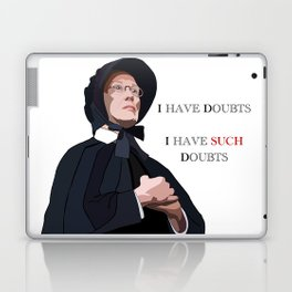 I have doubts, I have such doubts Laptop & iPad Skin