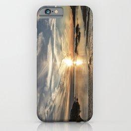 Plumcove Sun pillar iPhone Case