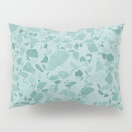 Teal Terrazzo Pillow Sham